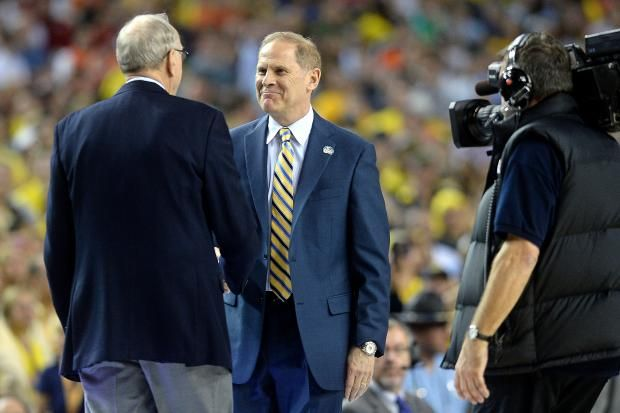 """""""Beilein riding high into new school year"""" By NEAL ROTHSCHILD Photo by Adam Glanzman Published September 4, 2013"""