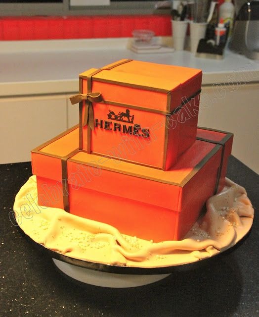 Celebrate with Cake!: Hermes Box Cakes
