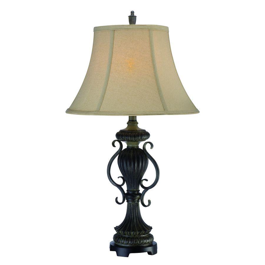 Shop lite source 30 12 in 3 way dark bronze table lamp with lite shop lite source 30 12 in 3 way dark bronze table aloadofball Images