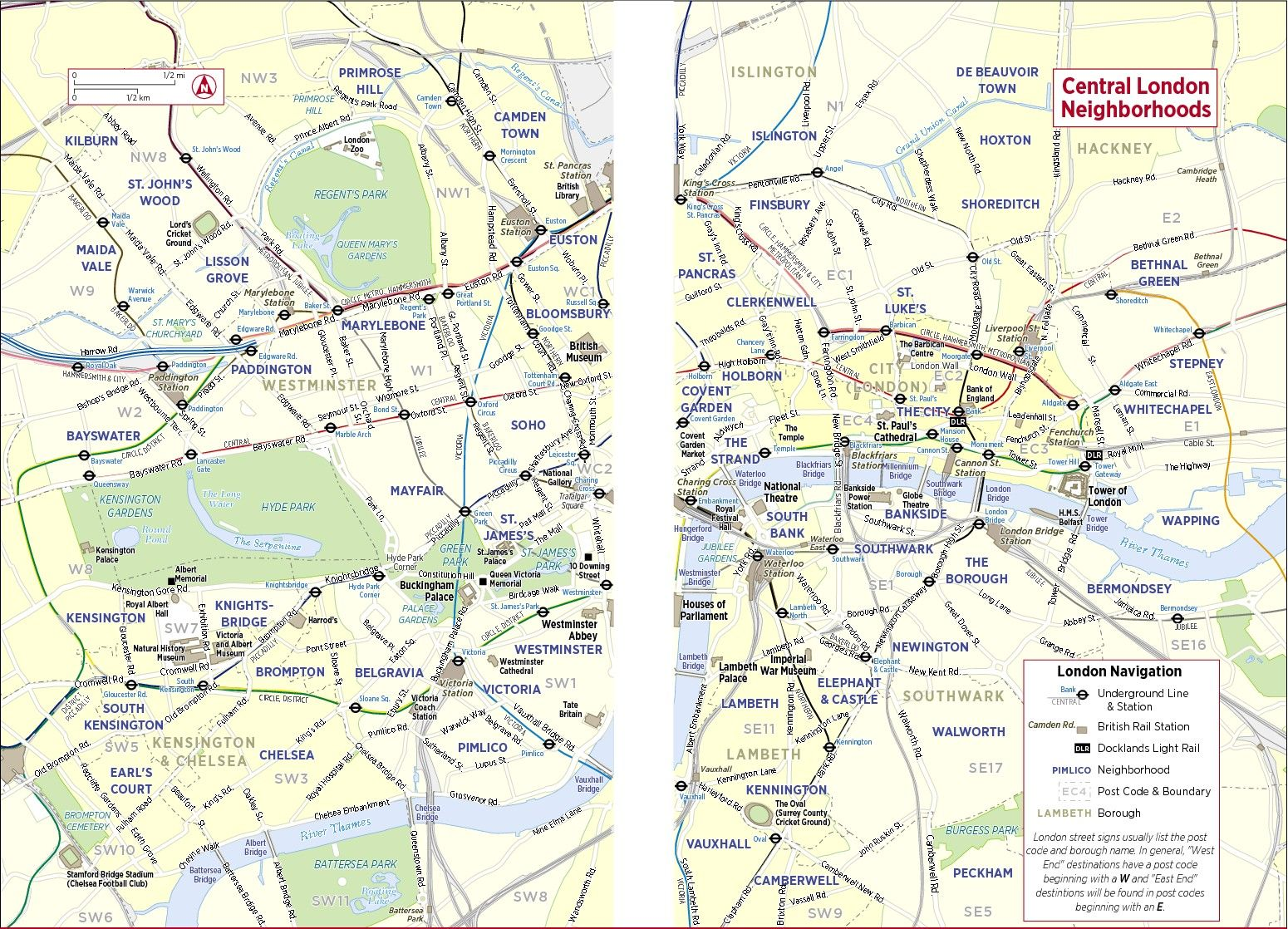 Map Of London With Neighborhoods.Map Of London Neighborhoods And Attractions Afp Cv