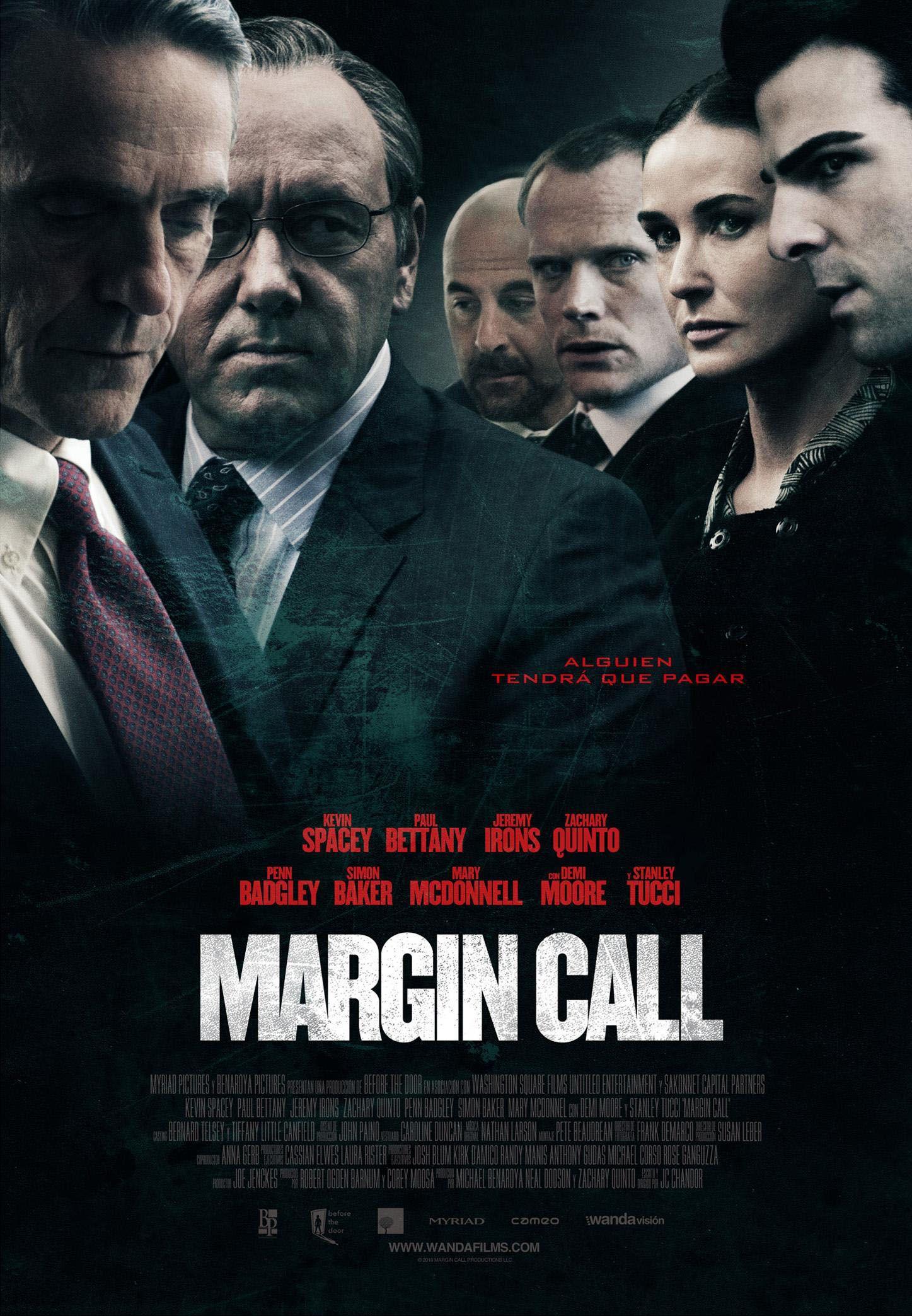 Margin call [Material gráfico] / Director, J.C. Chandor