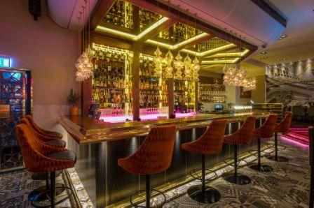 Kontea range at the Exit Lounge Bar in Stockholm | Installations ...