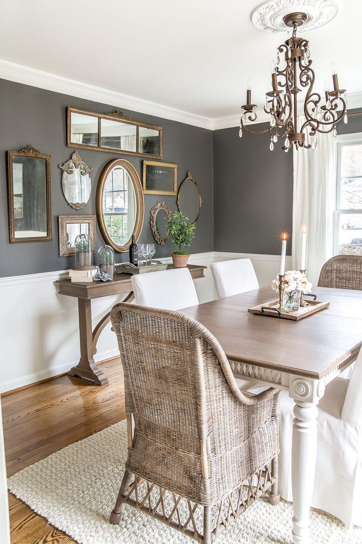 50 COOL FARMHOUSE DINING ROOM DECOR IDEAS Dining room