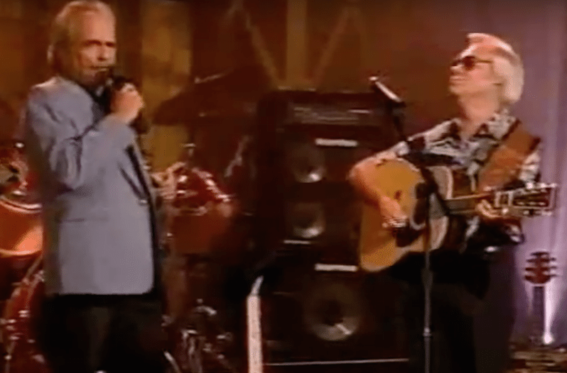 Watch George Jones Join Merle Haggard for an Unforgettable Duet