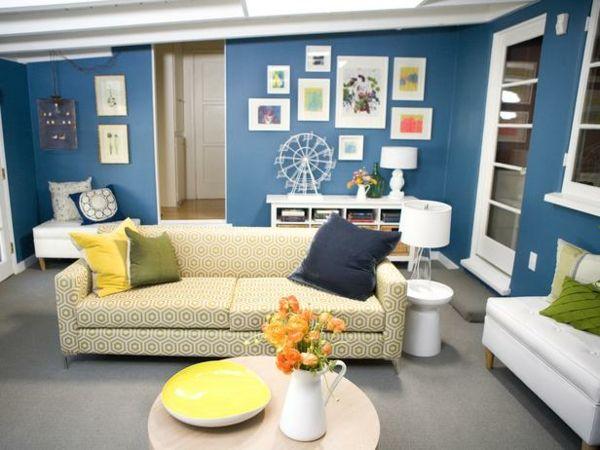 cool wandfarben f rs wohnzimmer 100 trendy wohnideen f r ihre wandgestaltung wandgestaltung. Black Bedroom Furniture Sets. Home Design Ideas