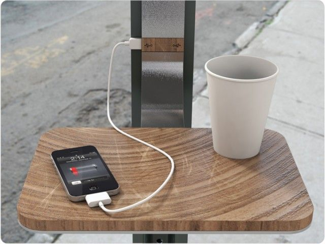 Solar Ed Public Charging Station Concept By Pensa