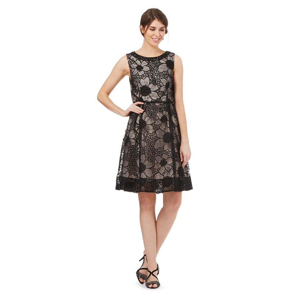 Debenhams Debut Black Layered Prom Dress Size Uk 12 Rrp 120 Lf076 Ee 07 Fashion Clothing Shoes Accessories Womenscl Dresses Debenhams Dresses Prom Dresses