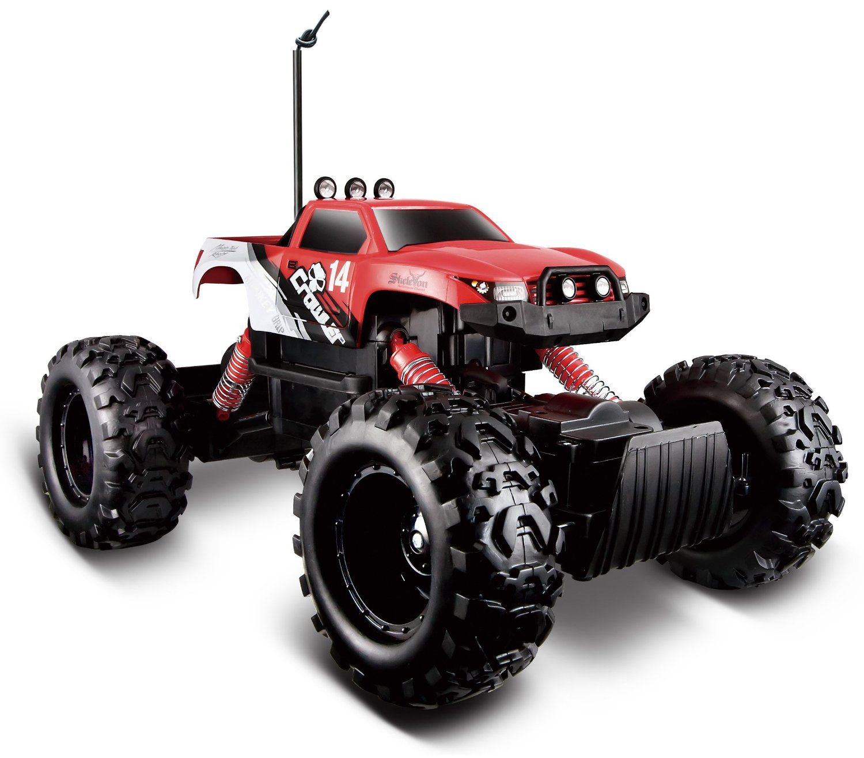 Maisto R X2f C Rock Crawler Radio Control Vehicle Colors May Vary Remote Control Trucks Remote Control Cars Monster Trucks