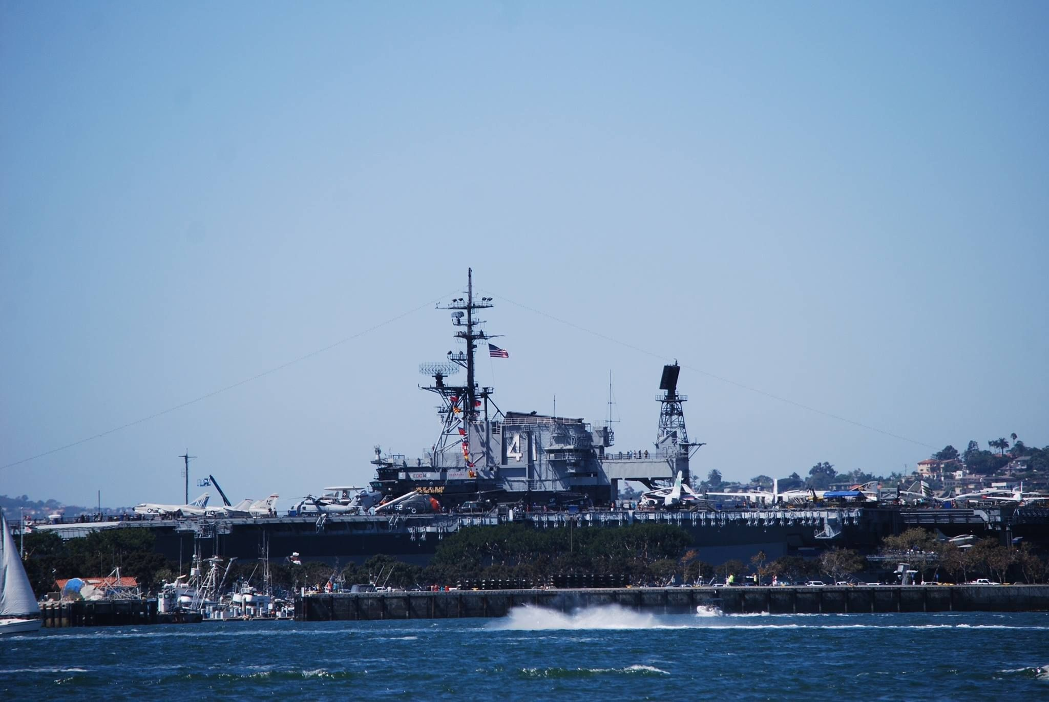 The Uss Midway Museum Harbor Dr San Diego Ca Photo By Vii Salinas