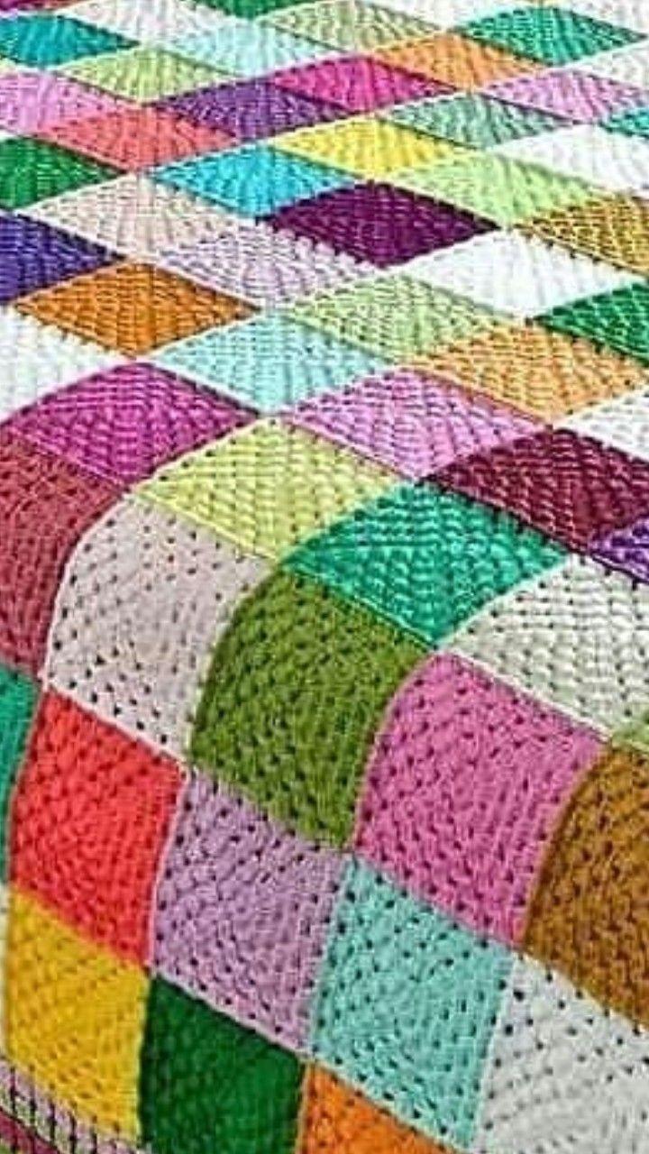 Pin de Gloria en sobrecamas en crochet | Pinterest | Manta, Lavar ...