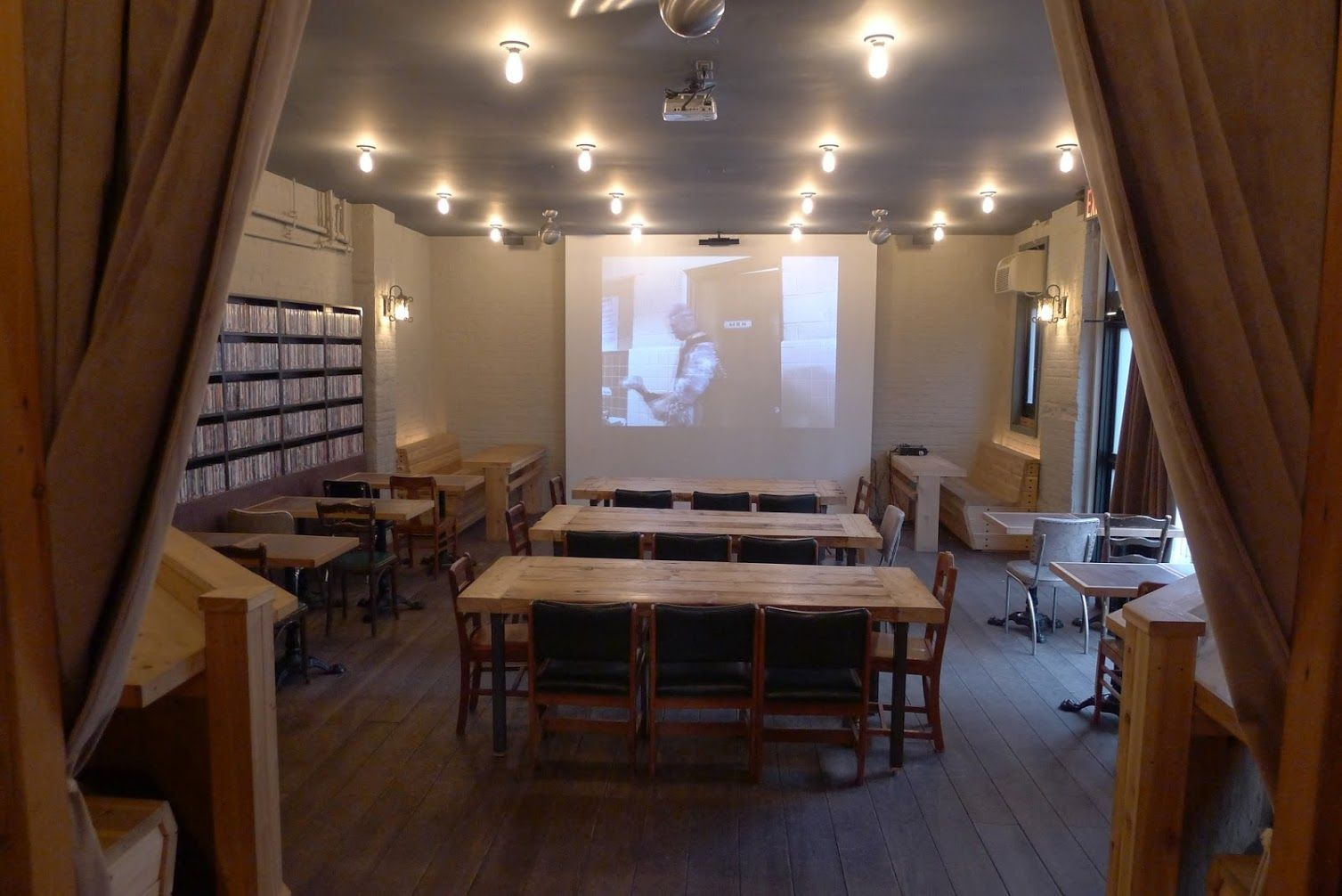 Videology is an independent microcinema located in