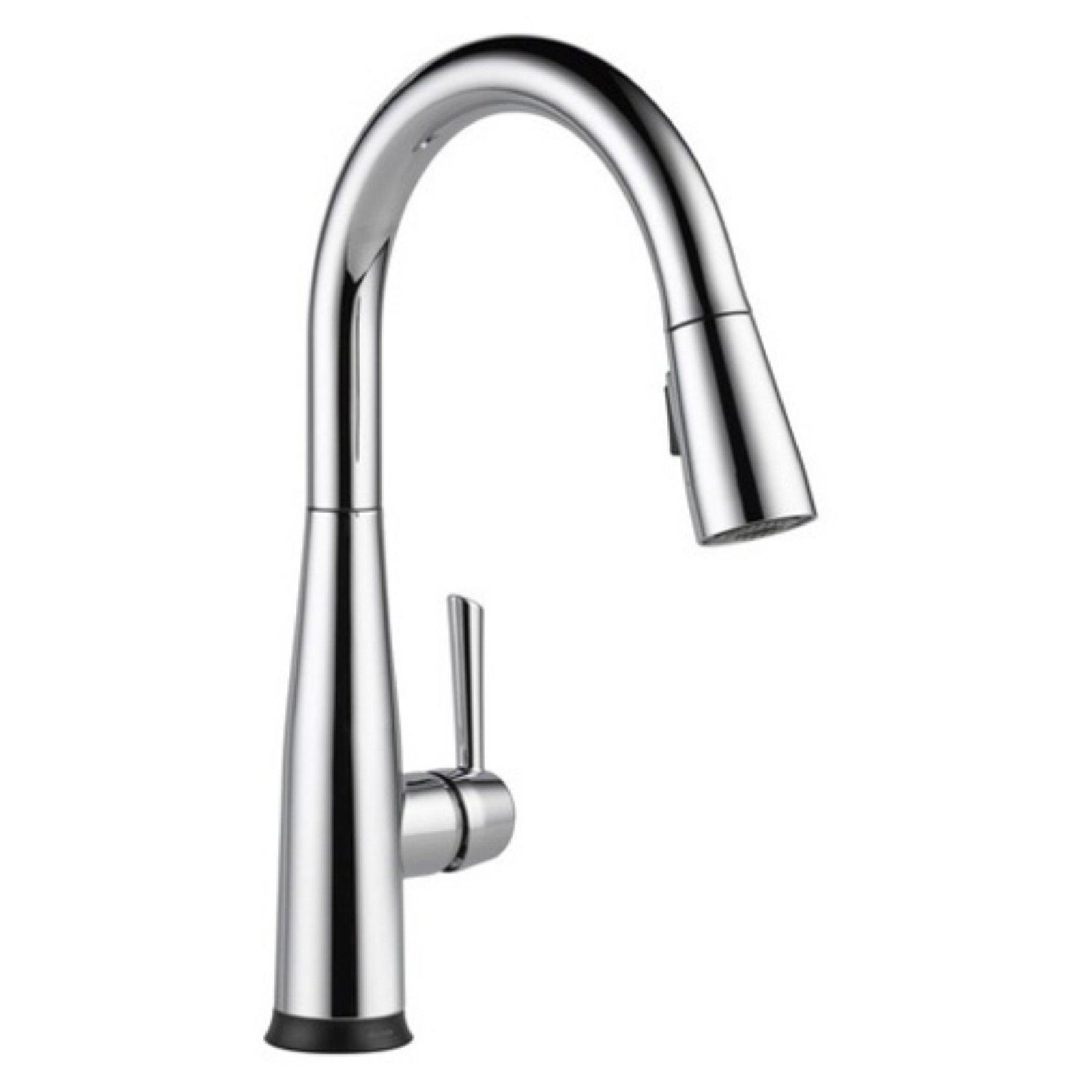 Delta 9113t Essa Touch2o Technology Single Handle Pull Down Sprayer Kitchen Faucet With Magnatite Docking Delta Faucets Faucet Kitchen Faucet