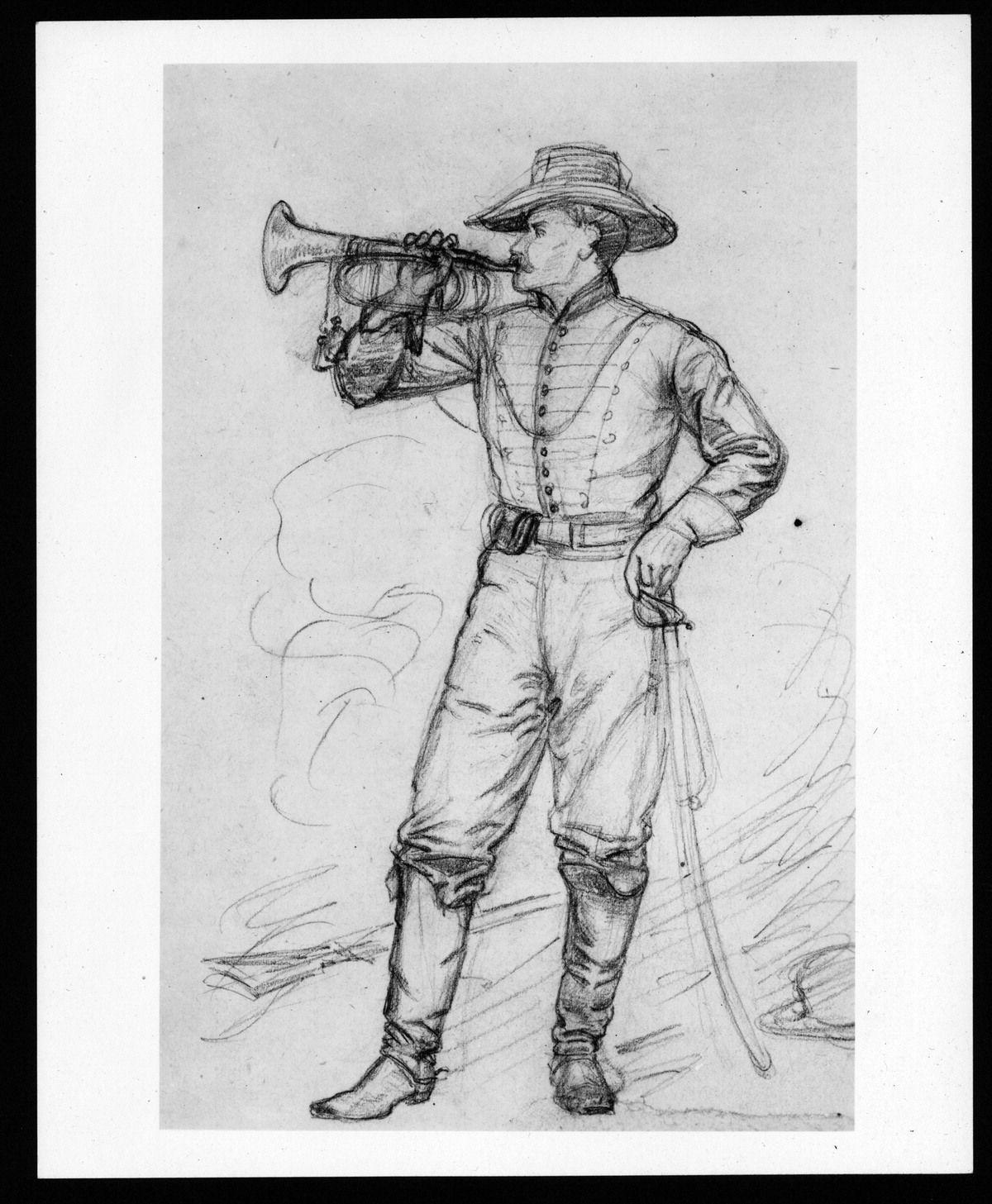 american civil war soldiers drawing pencil drawing war between