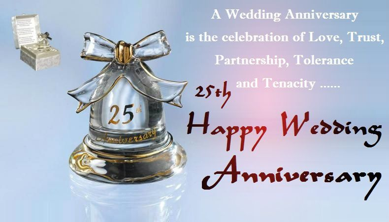 25th silver jubilee anniversary wishes cards festival