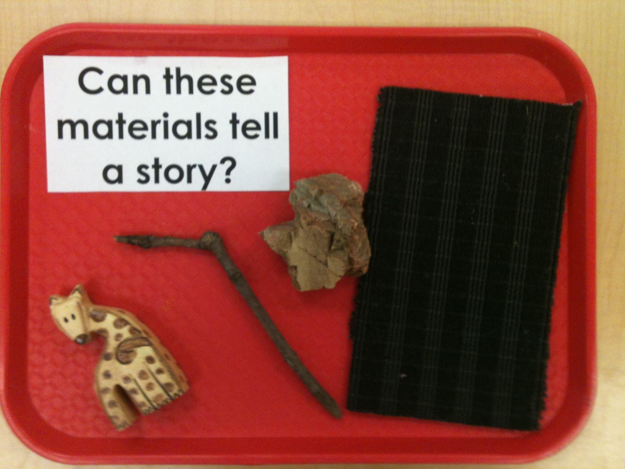 Storytelling Provocation Reggio