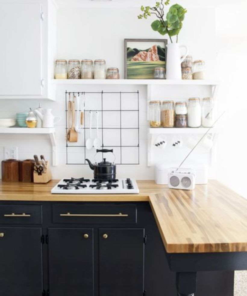 55 Crazy Black and White Kitchen Decor Ideas | White kitchen decor on shabby chic country decor, country kitchen decor, funny kitchen decor,