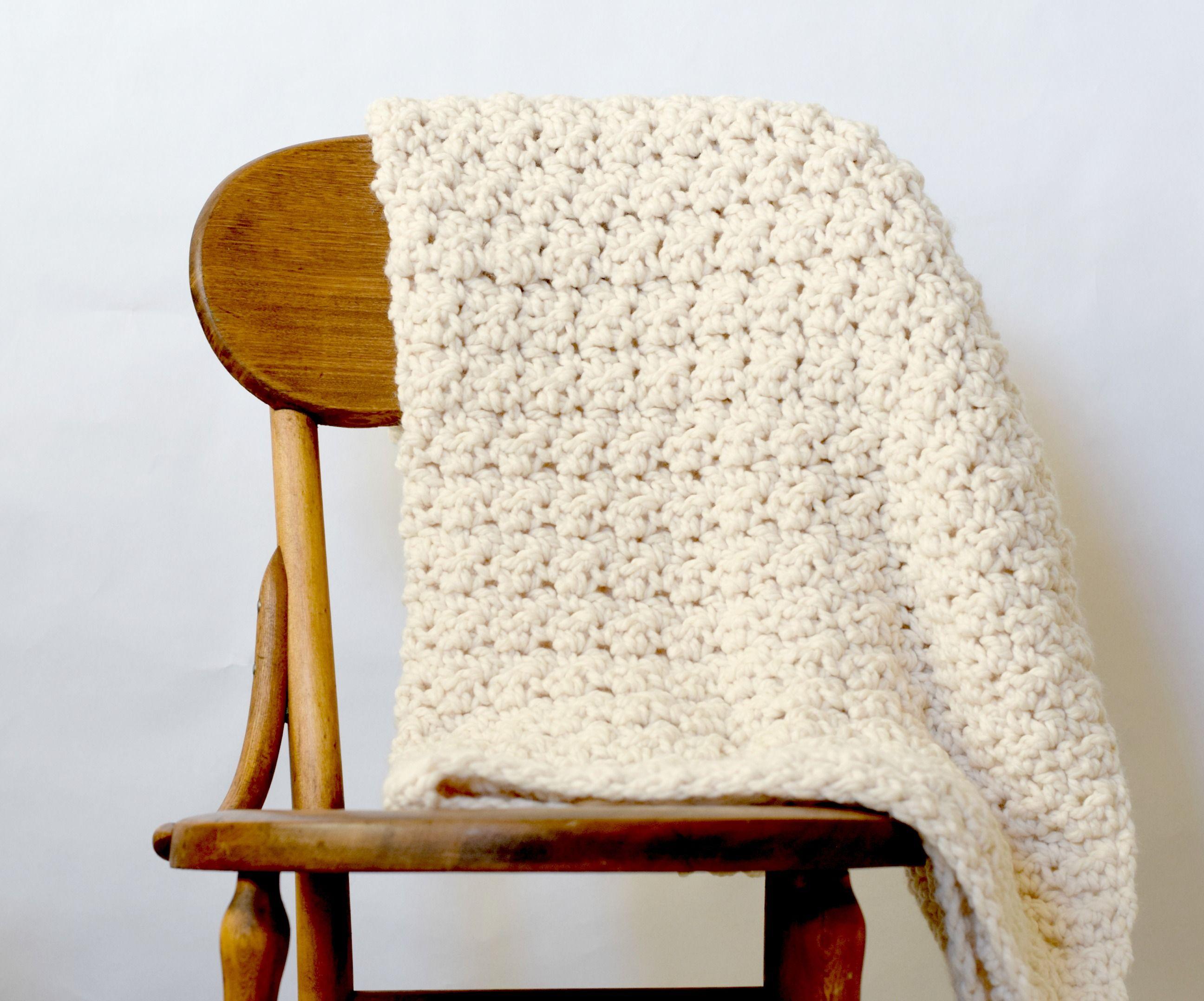 Chunky Icelandic Crochet Blanket Pattern | crochet | Pinterest ...