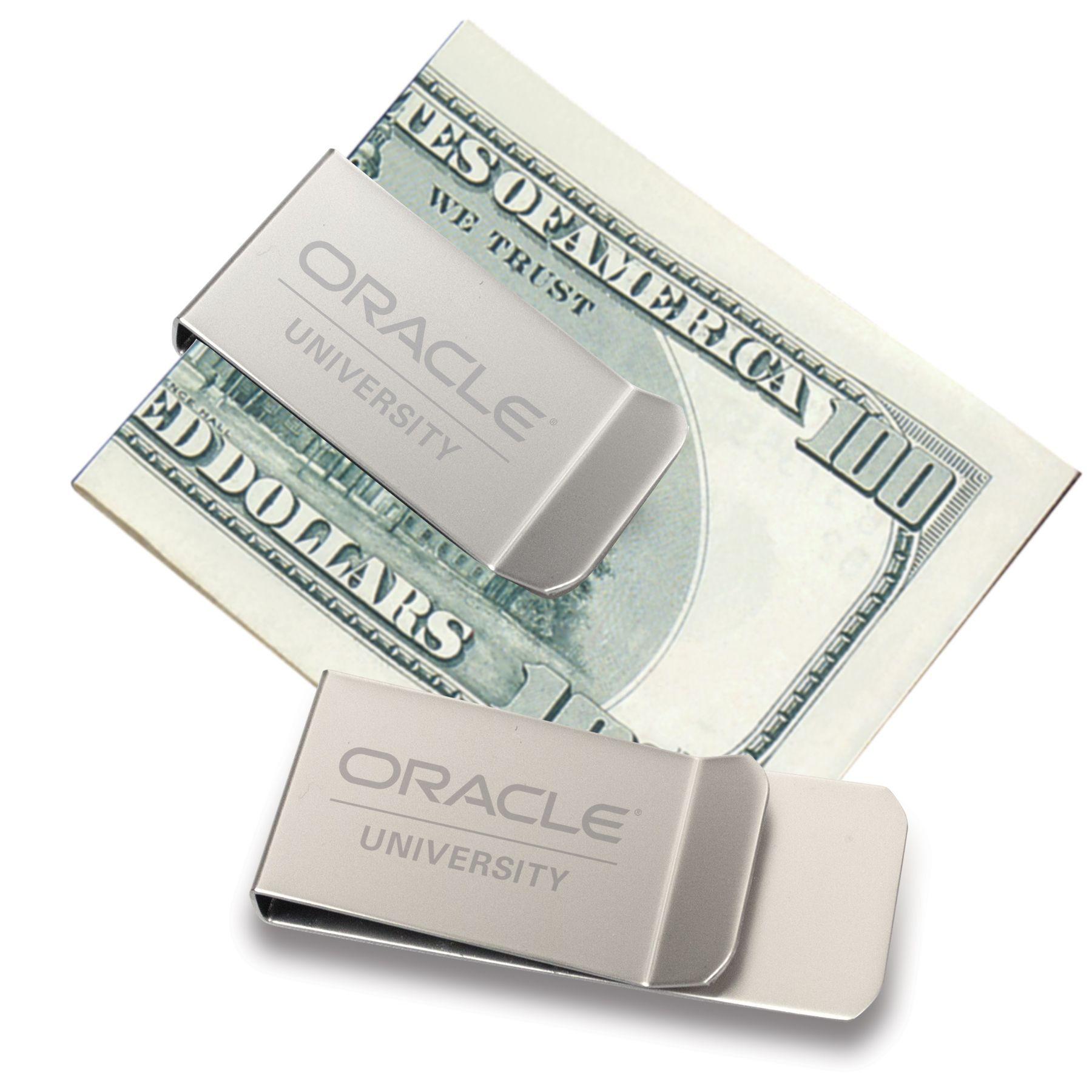 Satin Silver Stylish Simple Yet Elegant Money Clip