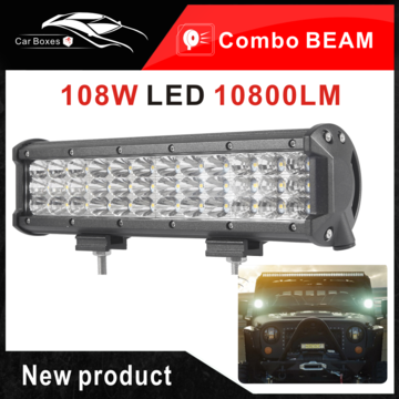 Specification Power 108w 3 Row Led Work Light Bar Number Of Chips 36pcs 3w Cree Leds Luminous Flux Approx 10800 Led Light Bars Bar Lighting 12v Led Lights