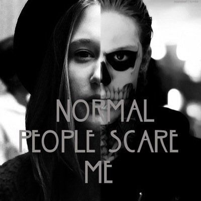American horror story #tate #violet