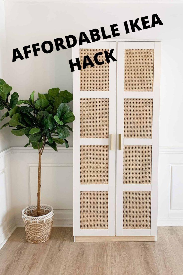 Photo of DIY Cane IKEA Brimnes Cabinet – arinsolangeathome