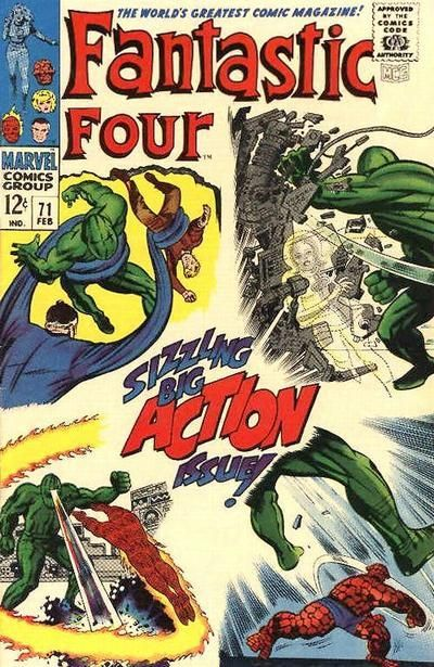 fantastic four 71 - Google Search