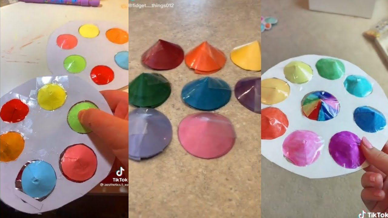 Diy Pop It Tiktok Compilation Youtube In 2021 Diy Fidget Toys Homemade Fidget Toys Cool Fidget Toys