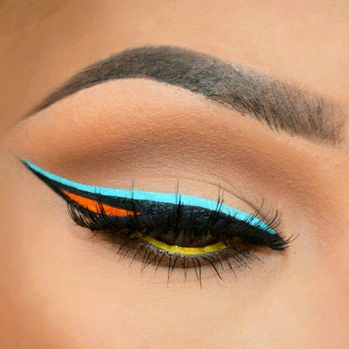 20 Creativas maneras para delinear los ojos que todas las mujeres deberíamos intentar