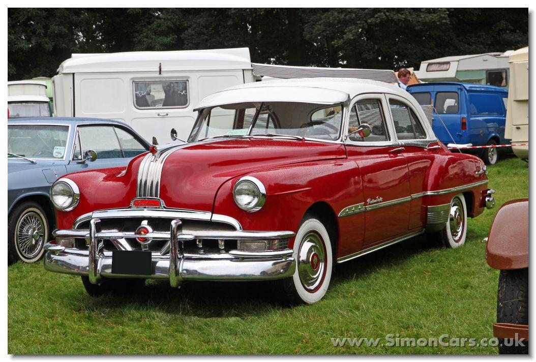 Pontiac chieftain 1951 4 door deluxe sedan front pontiac for 1951 chevrolet styleline deluxe 4 door sedan