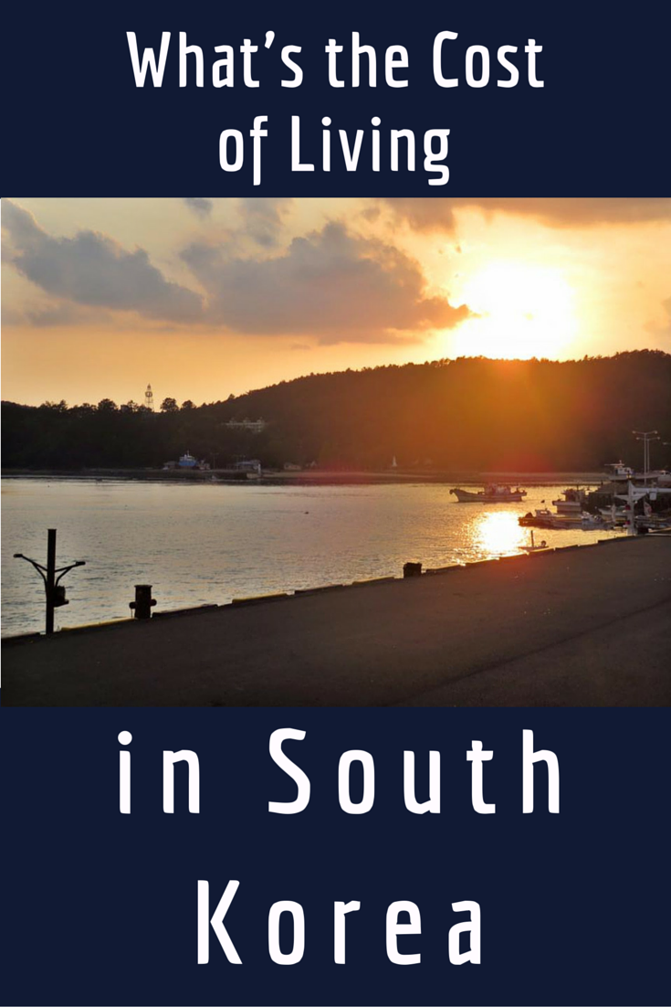 What's the Cost of Living in South Korea   Asia Adventure