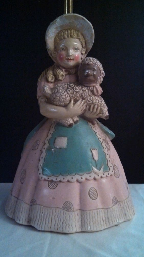 Electronics Cars Fashion Collectibles Coupons And More Ebay Vintage Lamps Little Bo Peep Ceramic Lamp