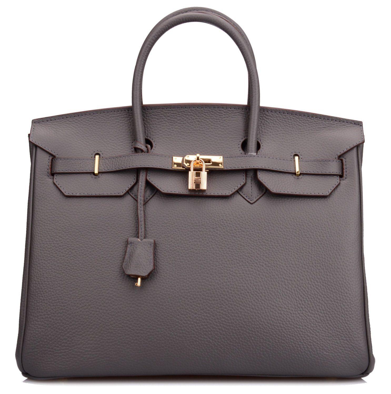 961eada6b9 Ainifeel 40cm Oversized Padlock Business Handbags Office Handbags (40cm(Silver  hardware)