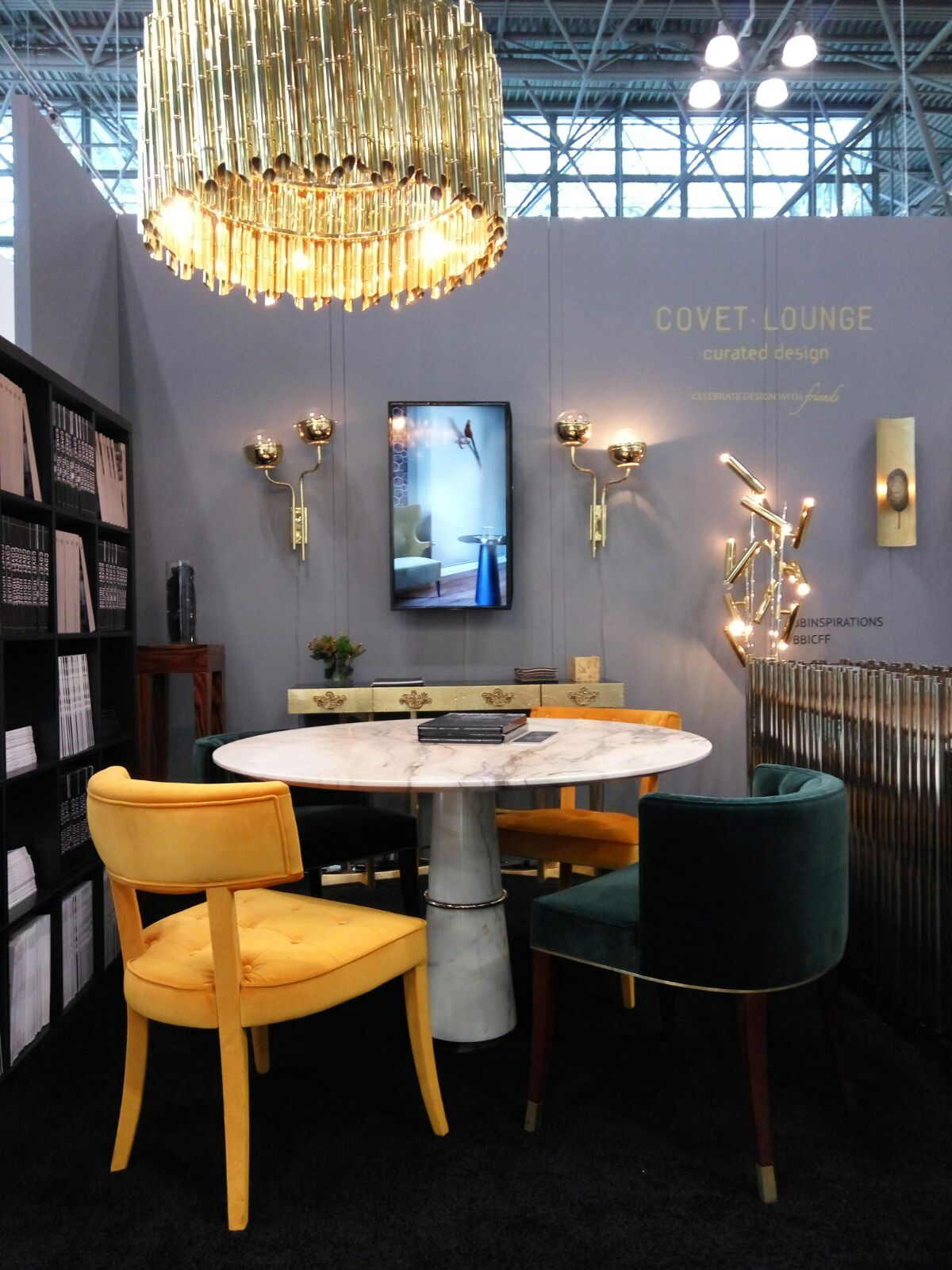 Charming Contemporary Furniture Design By Top Interior Design Brands: Covet House At  The Covet Lounge,