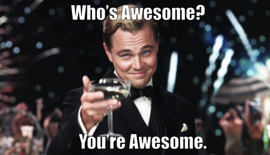 Workout Motivation Meme Funny : The great gatsby leonardo dicaprio whos awesome you re awesome jay