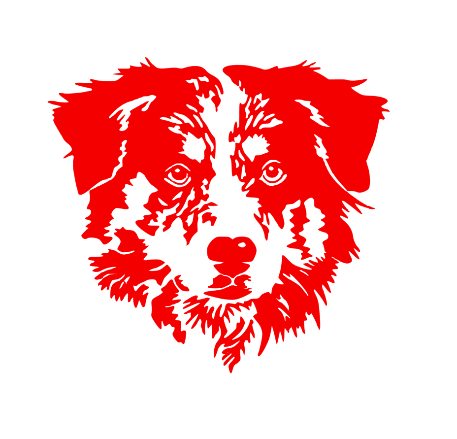 AUSTRALIAN SHEPHERD 16 vinyl decal custom decals vinyl