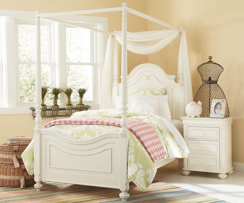 Kinderzimmer Baldachin Kids bedroom sets, Canopy bed, Bed