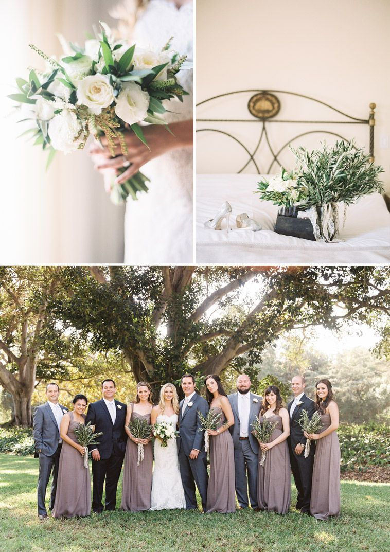 Rustic Charm And Glamour At This Santa Barbara Wedding El Capitan State Park Weddings Pinterest
