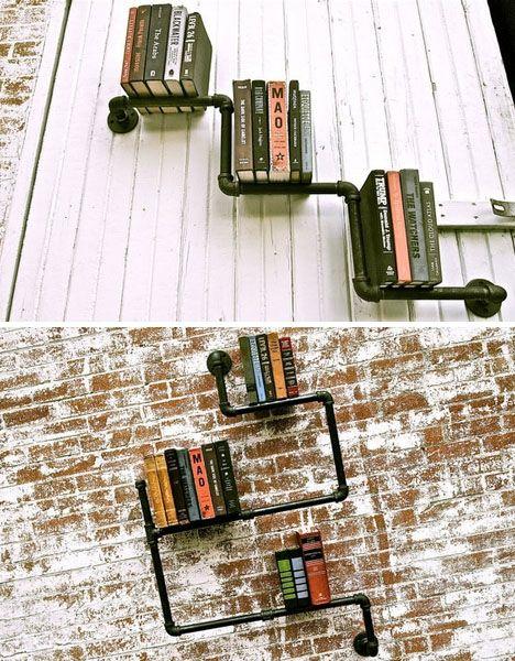 Un librero muy original