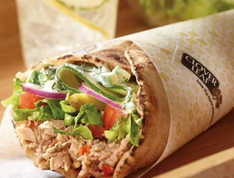 This lowcal tuna shawarma recipe is only 260 calories for Tuna fish nutrition