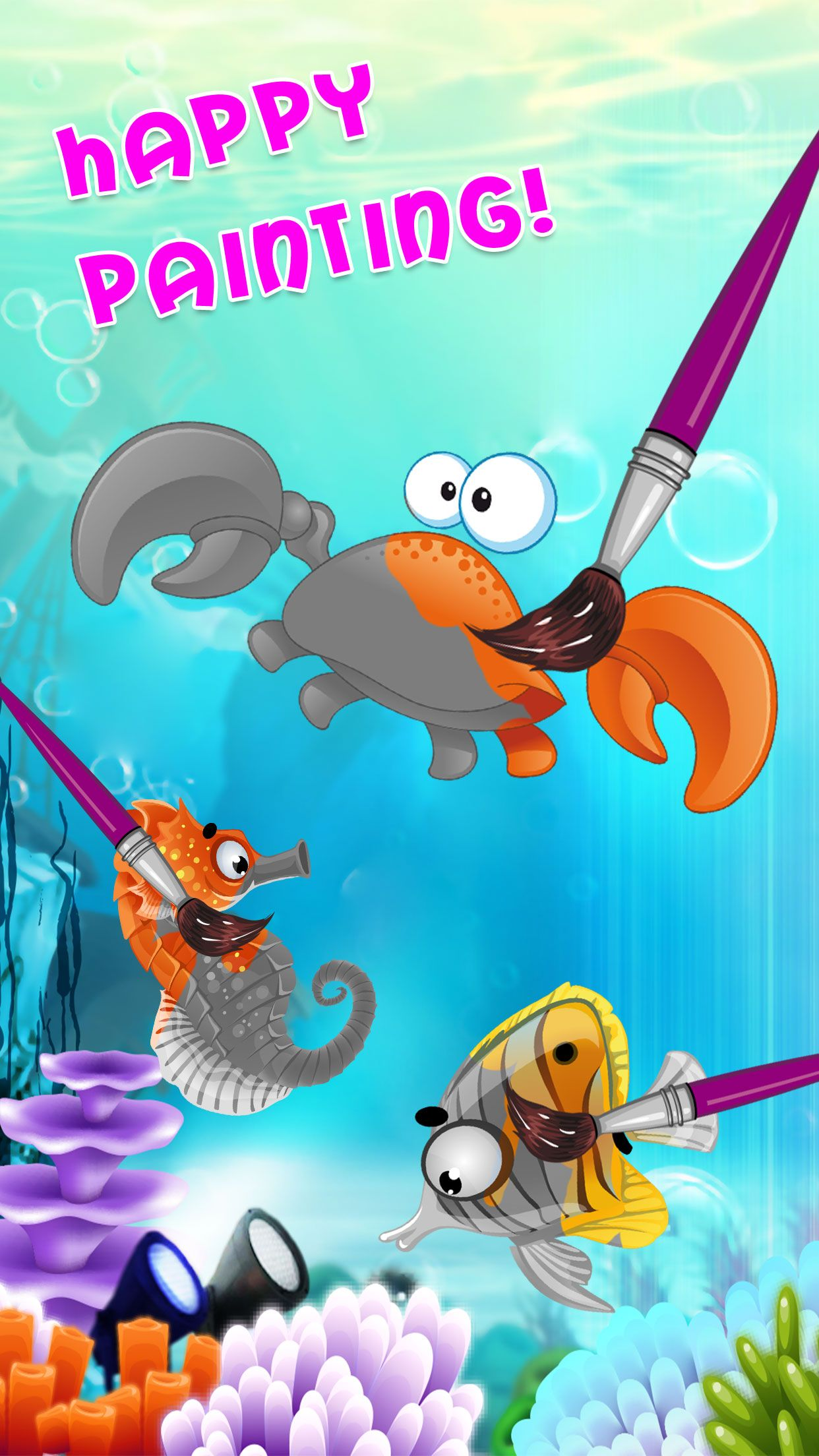 Exciting underwater adventures like puzzle solving and
