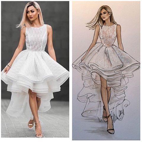 Our Exclusive Leah Dress by Leah Da Gloria X White Runway.