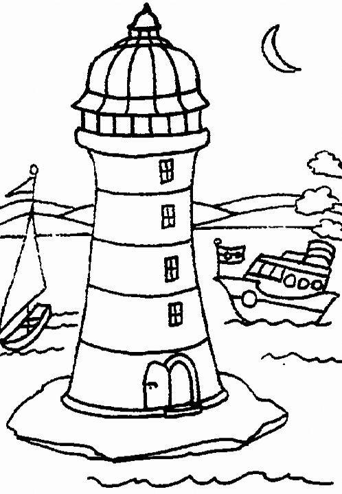 maják omalovánka - Hledat Googlem | Námořníci | Pinterest