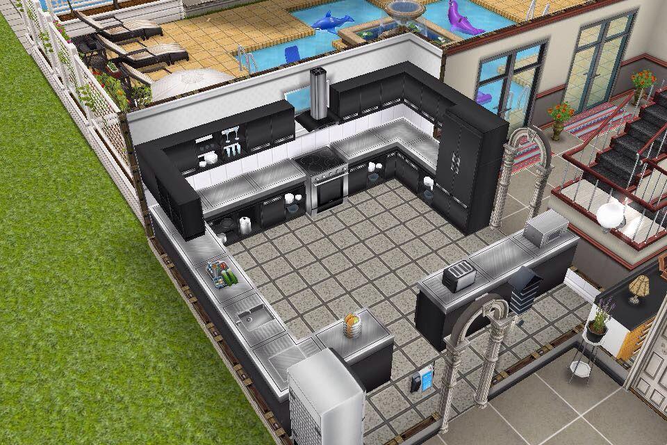 House 3 / 2nd building / ground floor / kitchen ...