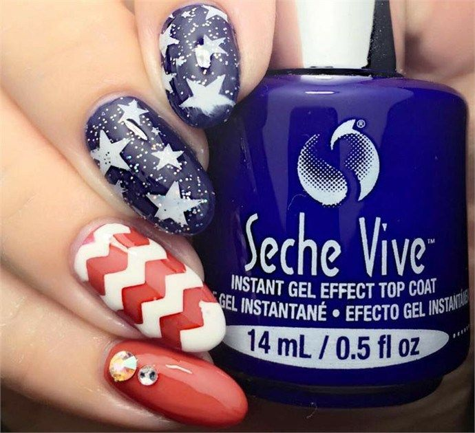 Memorial Day Nail Art For the Weekend 2018