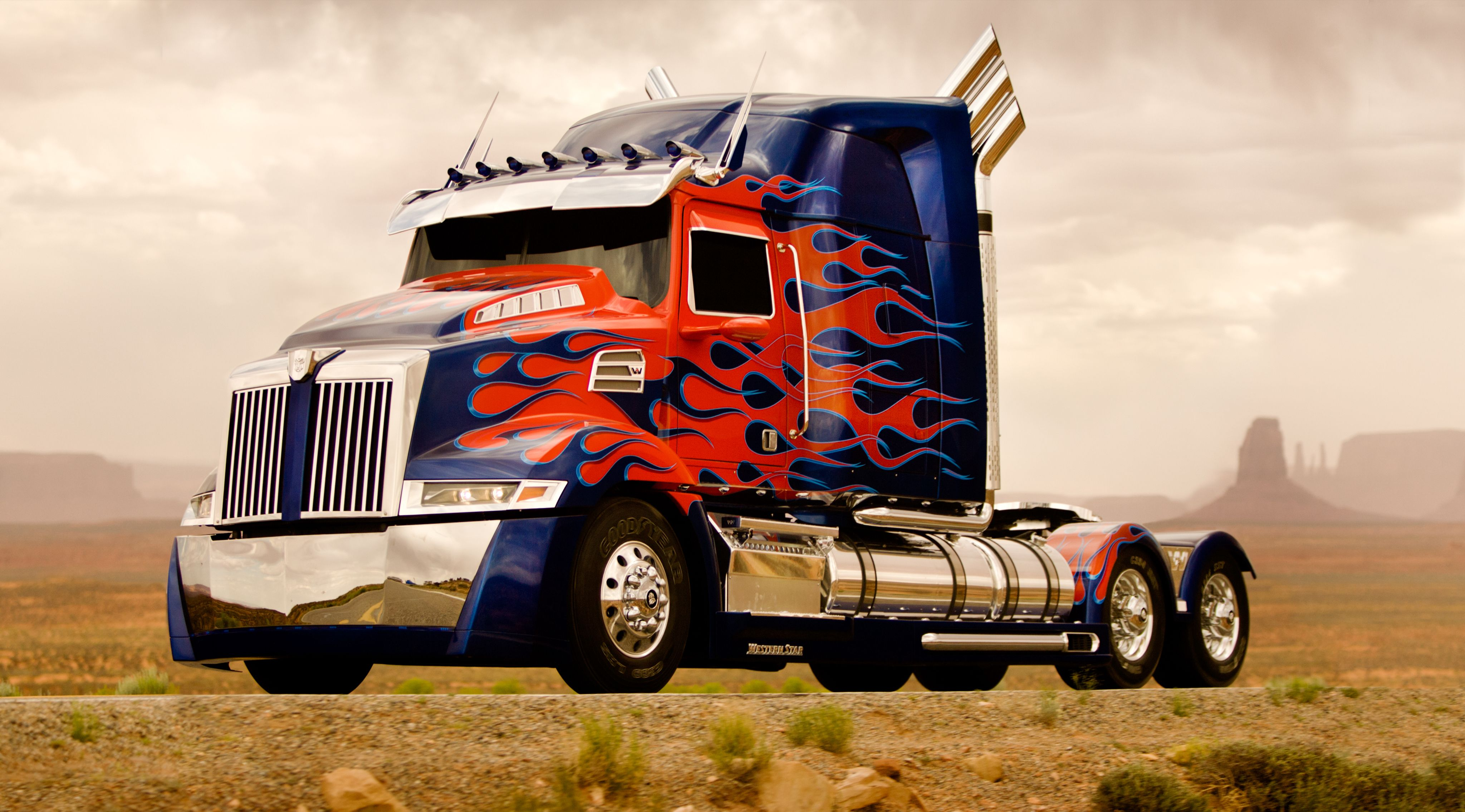 Western star 4900 optimus prime 2014