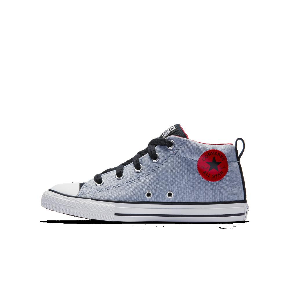 4a9c8aba2a05 Converse Chuck Taylor All Star Street Little Big Kids  Shoe Size 12C (Blue)  - Clearance Sale