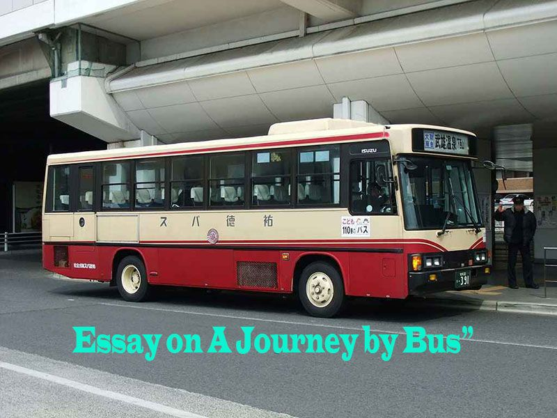 a journey by bus paragraph 100 words