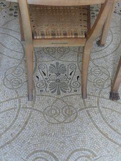Linden Blue Blog: Flooring, Villa Kerylos, France