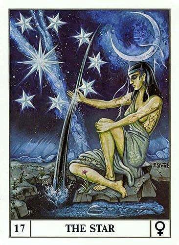 The Star - Ansata Tarot