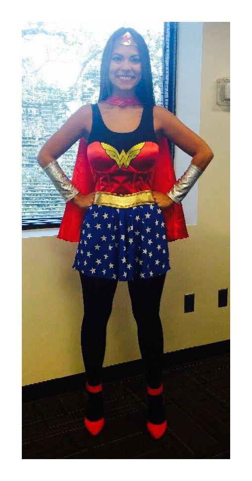 Work Appropriate Costume Halloween Costume Wonderwoman -9990